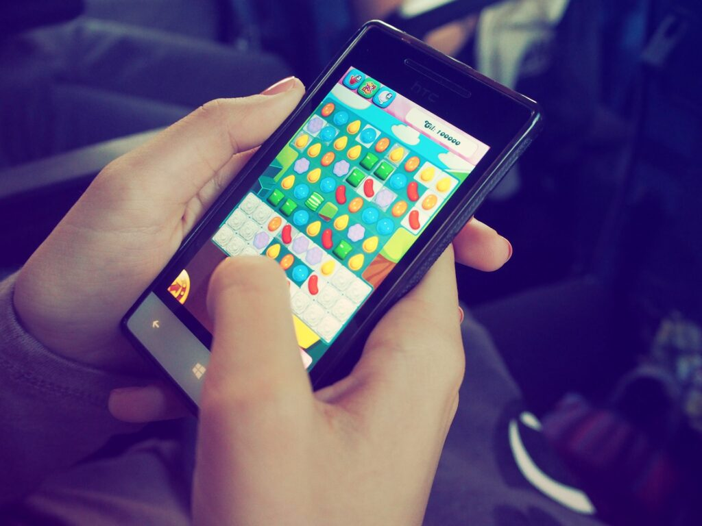 mobile games, effective anti-stress